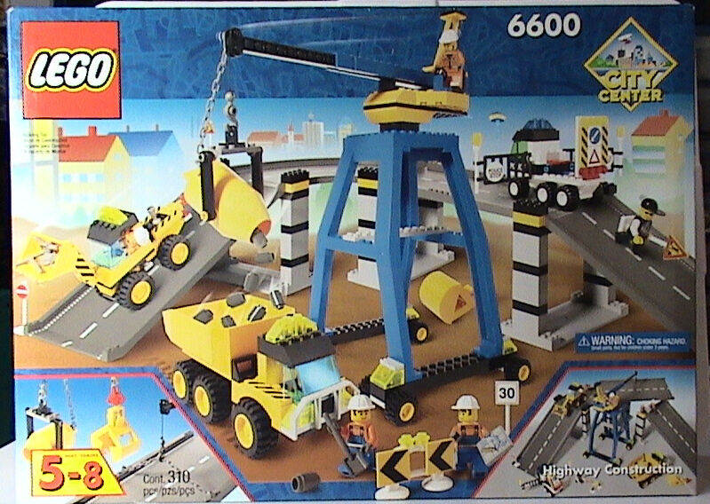 Lego 6600 Highway Construction