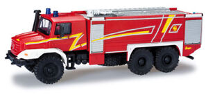 Herpa 049986 Mercedes-benz Zetros Pompier Ziegler-desgin Neuf