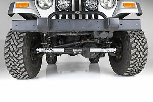 Jeep Steering Stabilizer >> 84 06 Jeep Tj Xj Zj Bds Fox 2 0 Dual Steering Stabilizer Kit Ebay