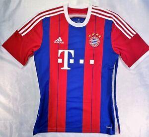 ADIDAS BATERN MÜNCHEN 2014/2015 HOME FOOTBALL FUßBALL JERSEY SHIRT MUNICH SIZE M