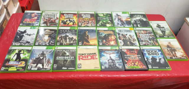 Wholesale Lot of 23 Xbox 360 Games *AS IS*