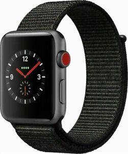 Apple-Watch-Series-3-38mm-Space-Gray-Case-Black-Sport-Loop-GPS-Cellular-Mint