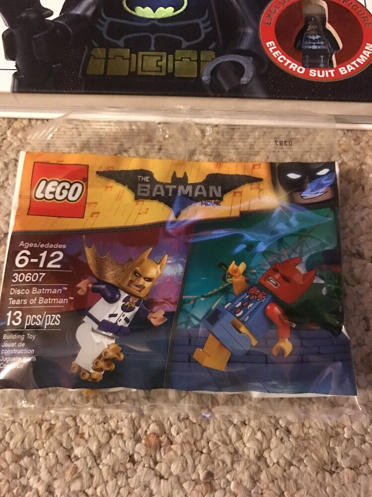 LEGO 30607 Batman Movie Lot DC Super Super Super Heroes Disco Tears Electro Pirate Tartan ef9c18