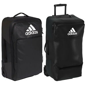 Image is loading Adidas-Performance-Team-Wheeled-Suitcase-Bags-Travel-Roll 28b8c33fc1
