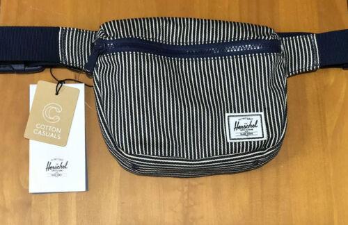 Cotton Canvas Fifteen Belt Bag Navy Striped SOLD OUT Herschel Supply Co