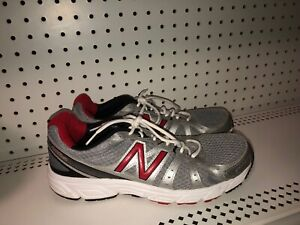 New-Balance-450v2-Mens-Athletic-Running-Training-Shoes-Size-10-5-Gray-Red-Black