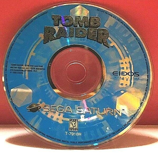 Tomb Raider (Sony PlayStation 1, 1996)(DISC ONLY) #7400