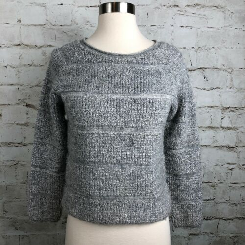 femmes bouclée Pull laine de taille mélange en maille Xs pour rayé See Chloé By 4qwY1R8ZR
