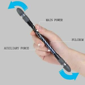 Non-Slip-Pen-Coated-Spinning-Ballpoint-Gaming-Rolling-Rotating-NEW-Playing-F1B4