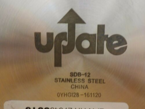 SDB-12 Update International 12 Qt Induction Ready Stainless Steel Double Boile
