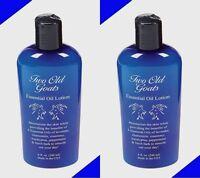 2 8oz Two Old Goats Arthritis & Fibromyalgia Essential Oil Lotion Pain Relief