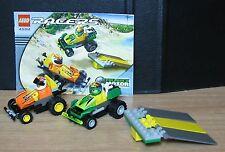 LEGO #4594 - MAVERICK SPRINTER & HOT ARROW - PULL BACK - VINTAGE LEGO