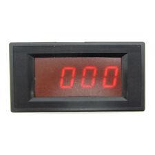 Dc 500ua Red Led Digital Microampere Ammeter Panel Digit Current Meter 0 500ua
