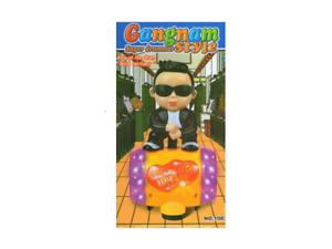 Super Gangnam Drummer Style Robot Toy Music & Flashing Light & Sound Kids Toy