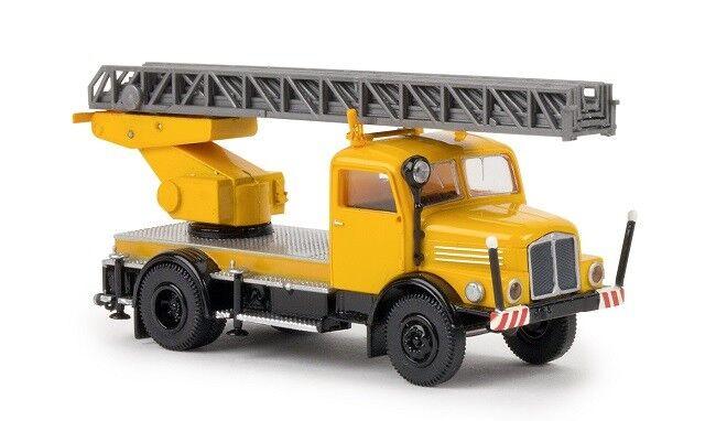 Brekina 71728 - 1 87 Ifa S4000-1 Dl 25 Drehleiter - Kommunalfahrzeug - Neu