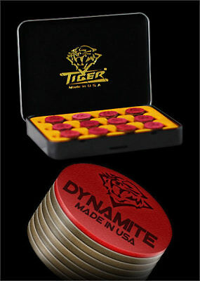 Tiger Dynamite Pool Cue Tips Tiger QTY 1 FREE SHIPPING 002009