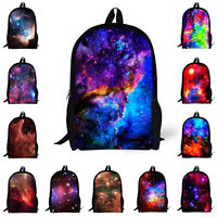 Galaxy Space Bags Backpack School Fashion Shoulder Bag For Boys Girls Rucksack