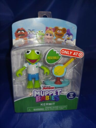 Kermit /& Banjo NEW Muppet Babies Figure and Accessory Set
