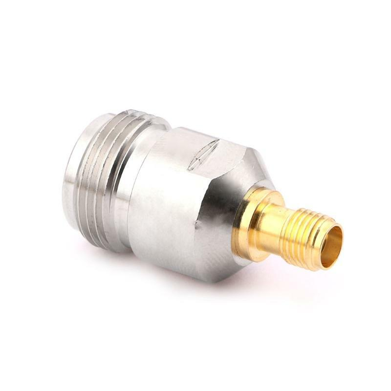 N Type Female to Female Jack SMA Line Plug Coax Connector Coupler Adapter RF. Available Now for 3.77