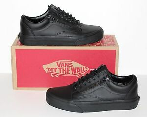 138582c4544bc0 Image is loading Vans-Old-Skool-Zip-Gunmetal-Black-Black-Women-