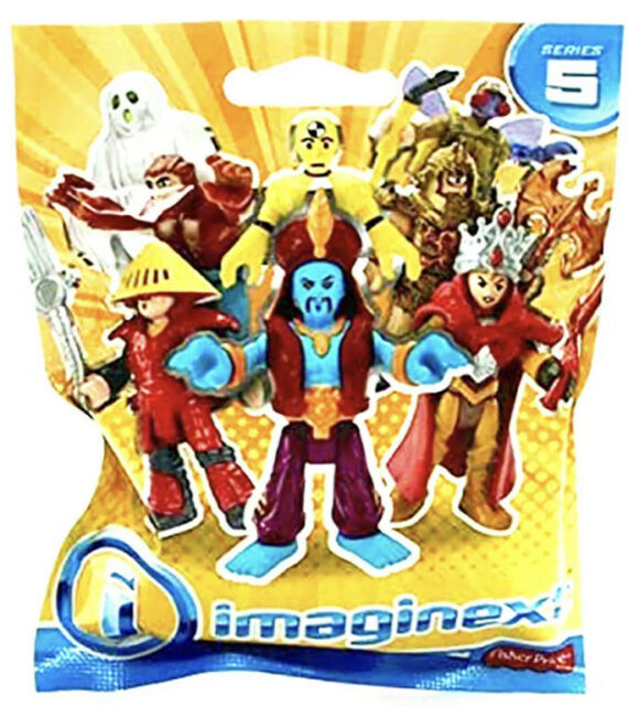 Fisher-Price Imaginext Series 5 Blind Bag  Brown Wolfman Action Figure Boy Toy