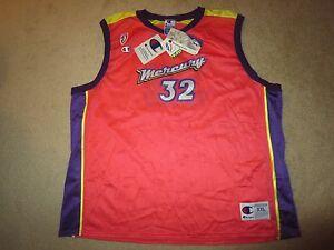 Bridget-Pettis-Phoenix-Mercury-WNBA-Basketball-Jersey-2XL-Signed-Autograph-Auto