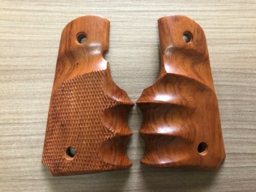 1991 COMPACT COLT OFFICER KIMBER CLONES WRAP ROUND HARDWOOD GRIP FOR 1911