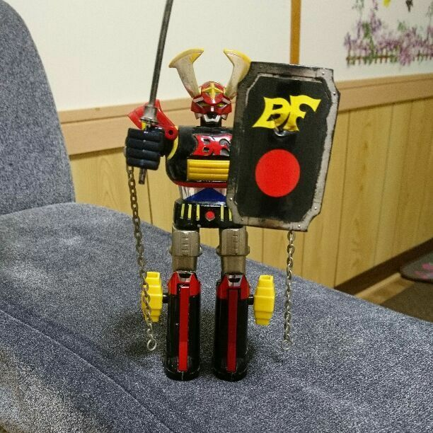 Vintage Chougoukin Battle Fever CB03 Showa Retro From JAPAN F S