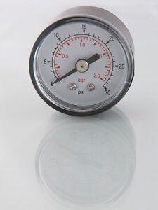1.1/2 In Diamètre (40mm) Manomètres Listing Multiple, 15 Psi à 300 Psi Bas Prix