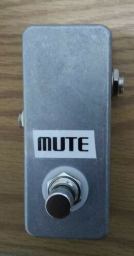 Mute Switch Guitar Pedal Hand Made In The USA