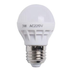 DEL E14 Candle Light Bulbs 3W// 5 W cool//Blanc Chaud économie d/'énergie lampes Ukseller