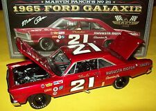 Marvin Panch 1965 Ford Galaxie #21 Augusta Motors Wood Bros. 1/24 NASCAR Legends