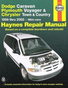 1996 2002 dodge caravan voyager town country haynes repair service rh ebay co uk chrysler town & country manual town & country tc36 manual