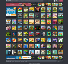 Flash Games Website For Sale