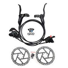 SHIMANO Black BR-BL-M315 MTB Hydraulic Disc Brake Set Front and Rear G2 Rotors