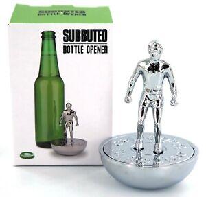 Retro-Subbuteo-Metal-Football-Bottle-Opener-Soccer-Gift-in-Chrome