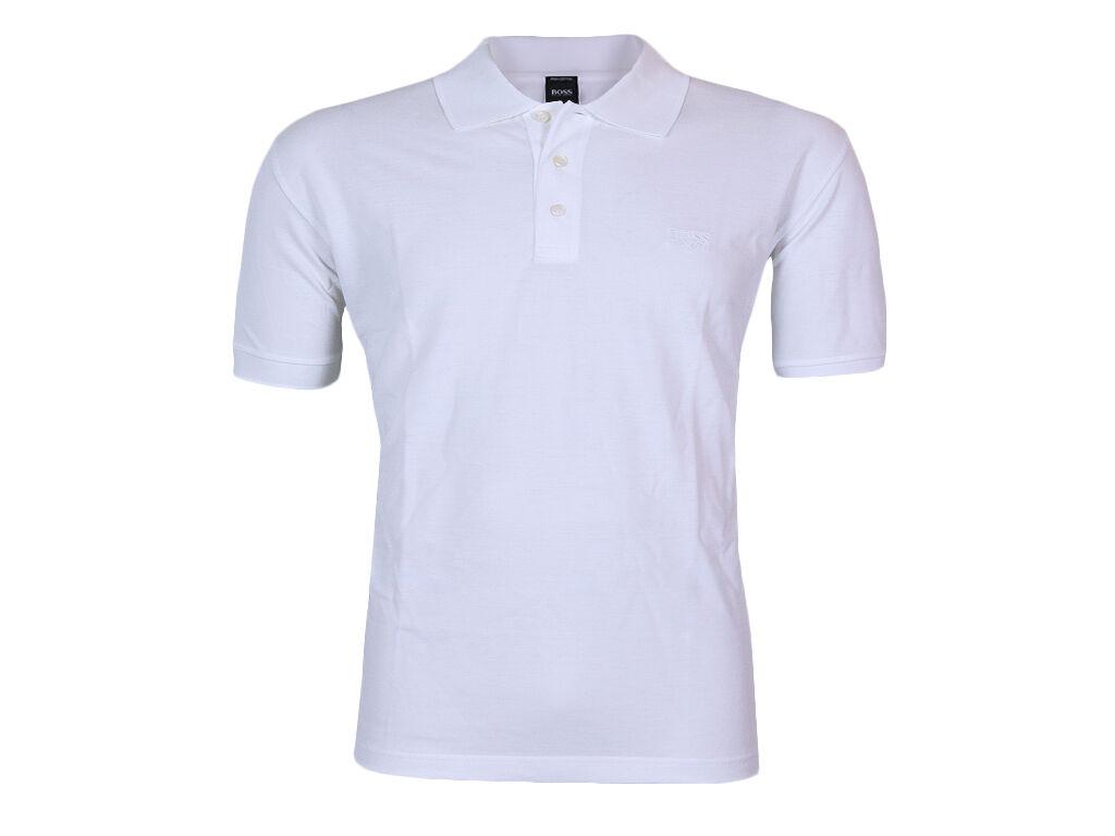 Hugo Boss Poloshirt Ferrara XXL white Baumwolle Neu