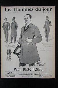 Paul-Deschanel-President-Caricature-Drawing-the-Men-the-Jour-No-No-22-of-1908