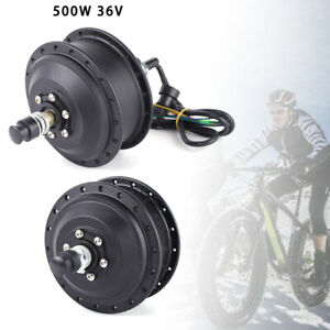 36V-Brushless-Gear-Hub-Motor-500W-For-Electric-E-Bike-Conversion-Kit-Disc-brake