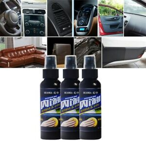 Car-Care-Interior-Polish-Wax-Leather-Seat-Panel-Dashboard-Tire-Cleaner50ml-Magic