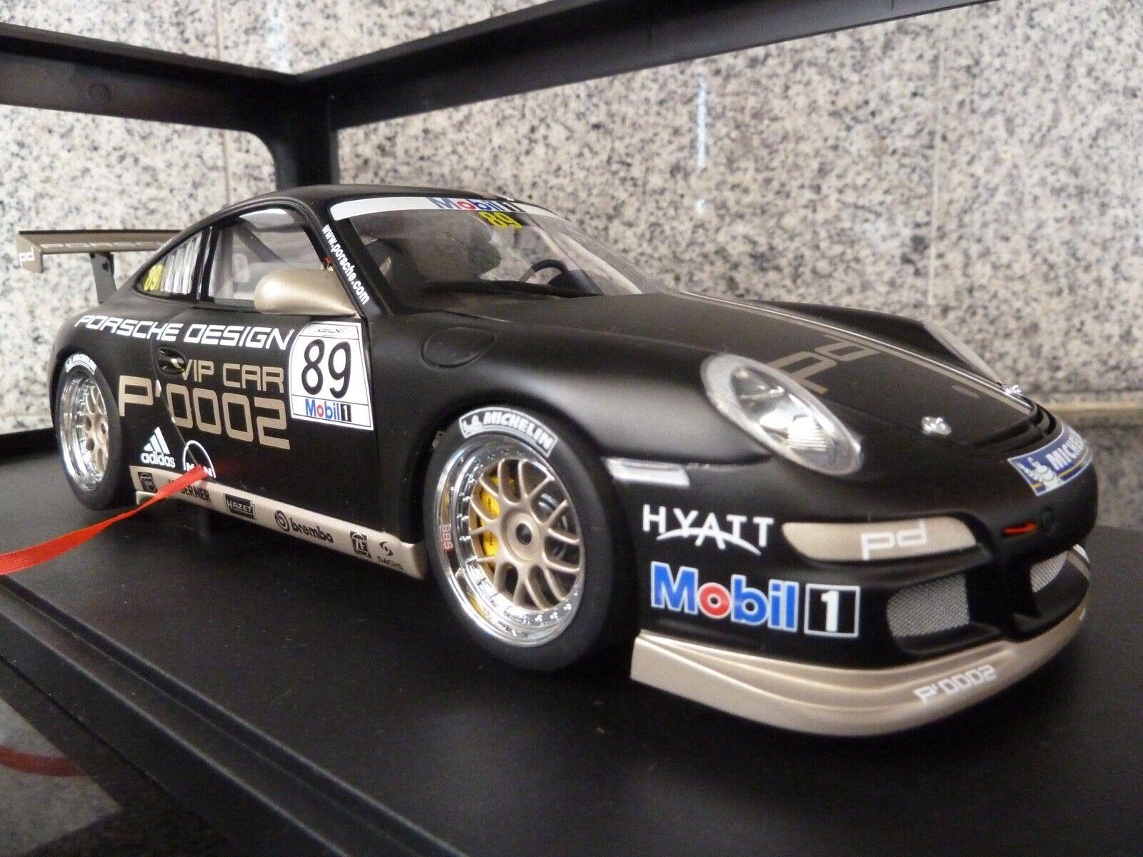 1 18 AutoArt, Porsche 911 (997) GT3, \35;89, Cup 2007, VIP bil 0002