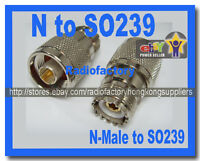1x N to So239 for YAESU FT7800R FT-8900R FT-8800R S053