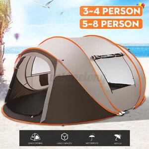 3 IN 1 Waterproof UV Resistance Camping Tent Outdoor Easy ...