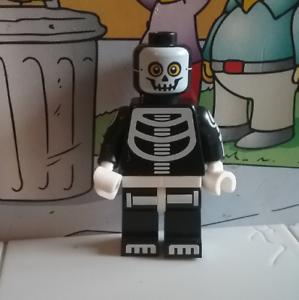Series 14 lego mini figure SKELETON GUY boy
