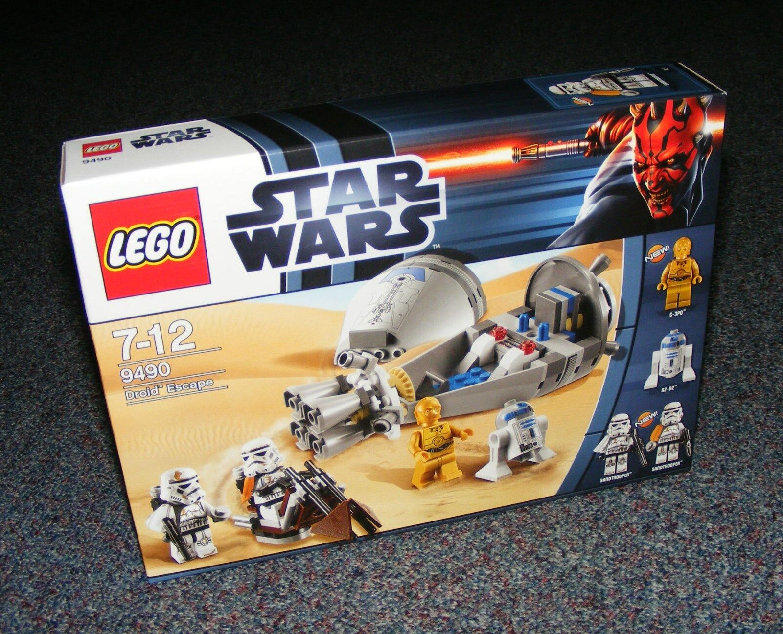 STAR WARS LEGO 9490 DROID ESCAPE BRAND NEW SEALED