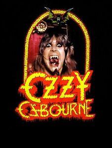 OZZY-OSBOURNE-cd-cvr-SPEAK-OF-THE-DEVIL-Official-SHIRT-SMALL-New-black-sabbath