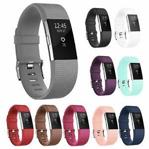 Pour-les-fabricants-OEM-Fitbit-Charge-2-HR-Remplacement-Bande-De-Silicone-Montre-Bracelet-de-fitness
