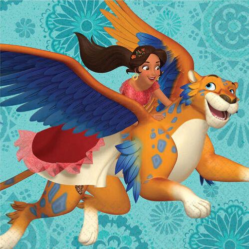 Disney PRINCESS ELENA OF AVALOR birthday party lunch dinner PAPER NAPKINS 16pcs