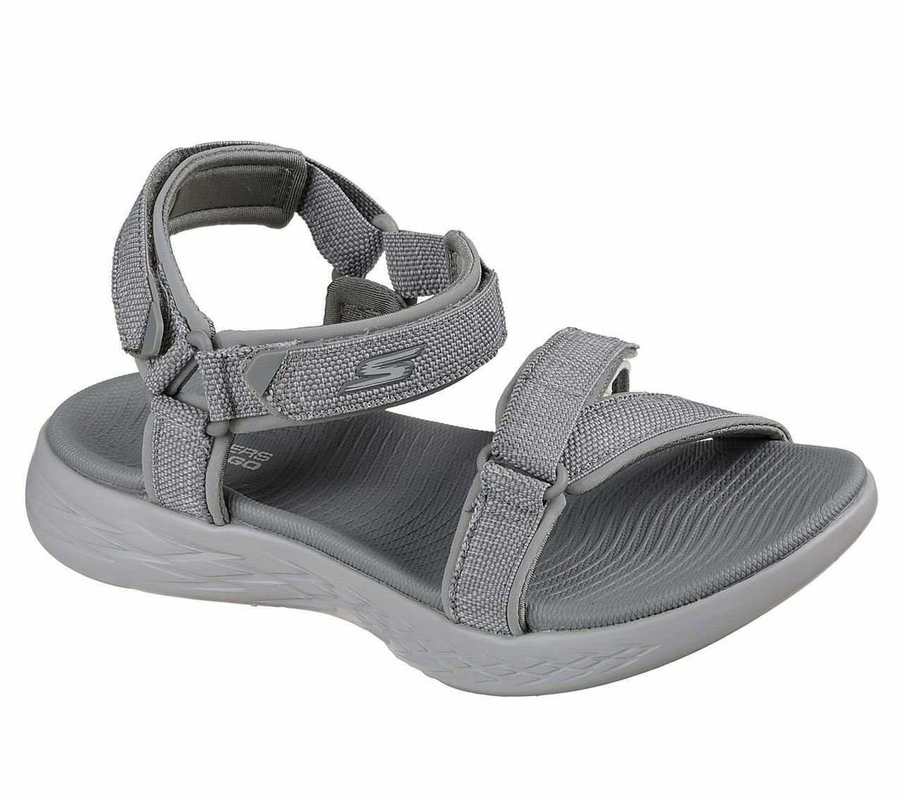 Skechers O-T-G mujer Sandals On-The-Go 600 Radiant Sandalias Mujer Zapatos gris