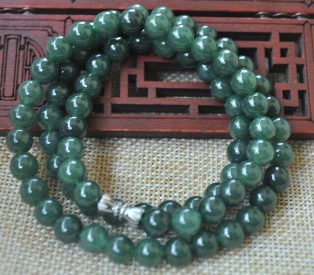 Certified 100/% Natural A Emerald Jade ~Bracelet  Have certificate